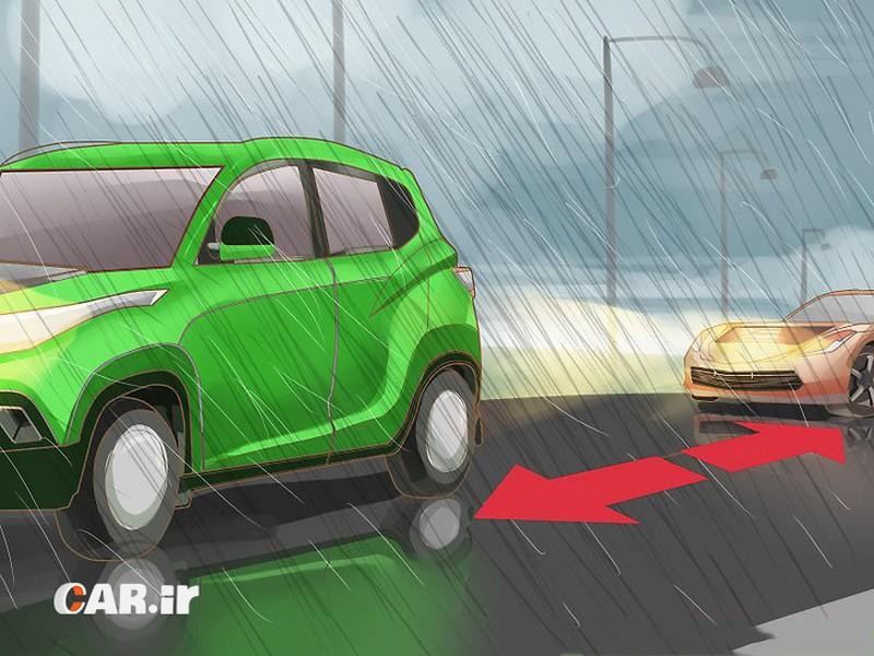راهنمای کامل رانندگی در هوای بارانی