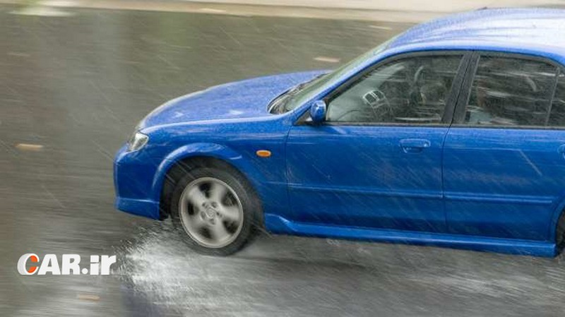 آب سواری خودرو به چه معناست؟
