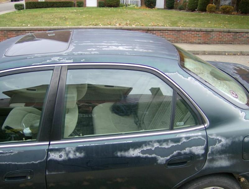 آیا آفتاب به خودرو صدمه می زند ؟