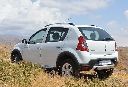 آغاز فروش خودروی جدید ساندرو استپ وی از روز شنبه