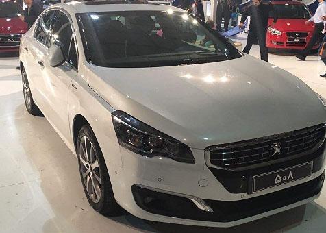 واردات پژو 508 توسط ایران خودرو