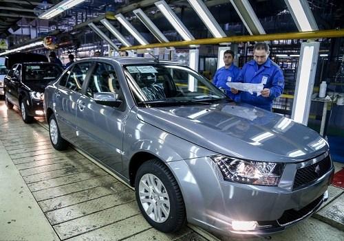 صادرات بیش از 300 خودروی دنا به کشور الجزایر