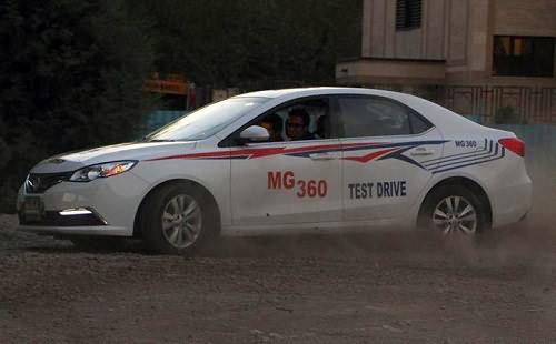 گزارشی از اولین تست و بررسی MG360 در ایران + تصاویر