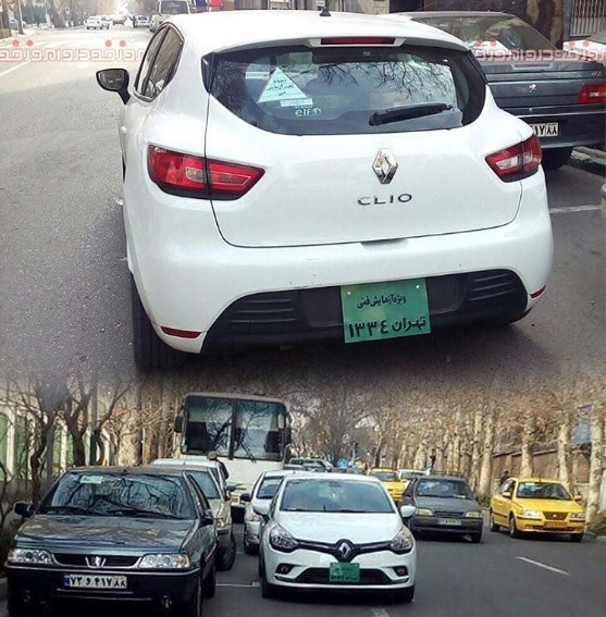 آزمایش فنی رنو کلیو شرکت ایران خودرو در تهران