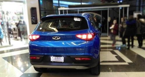 رونمایی از خودروی تیگو 7 برای اولینبار در ایران