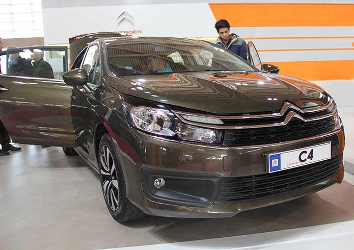 سایپا از سیتروئن C4 در نمایشگاه تهران رونمایی کرد