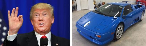 خودروهای لوکس و گرانقیمت دونالد ترامپ