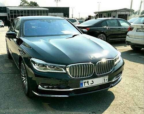 اولین BMW سری 7 در مدل 2017 پلاک ملی دریافت کرد