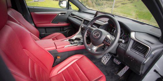 بررسی لکسس RX350 F Sport