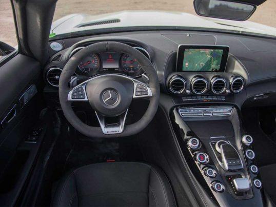 اولین تجربهٔ بررسی مرسدس AMG GT C رودستر
