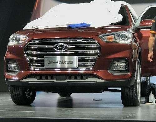 مدل جدید هیوندای توسان در چین رونمایی شد