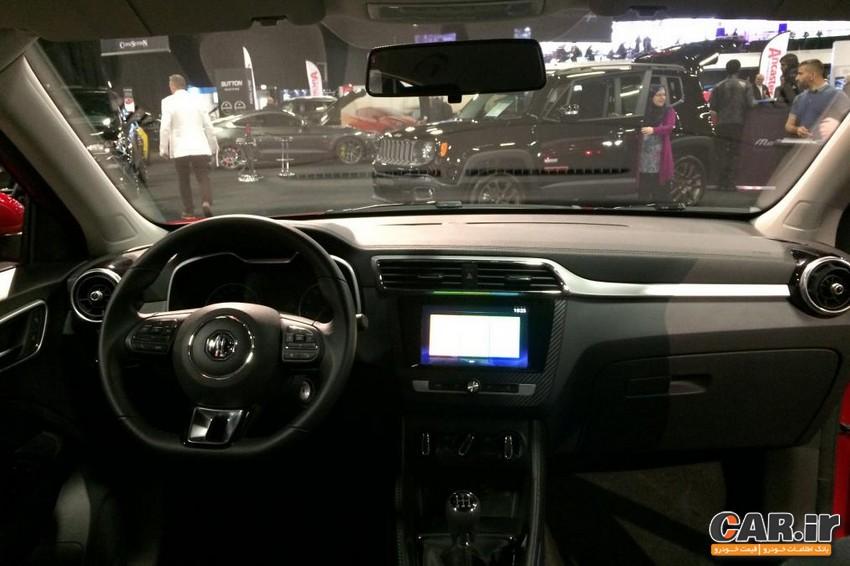 ام جی XS در نمایشگاه خودروی لندن رونمایی شد