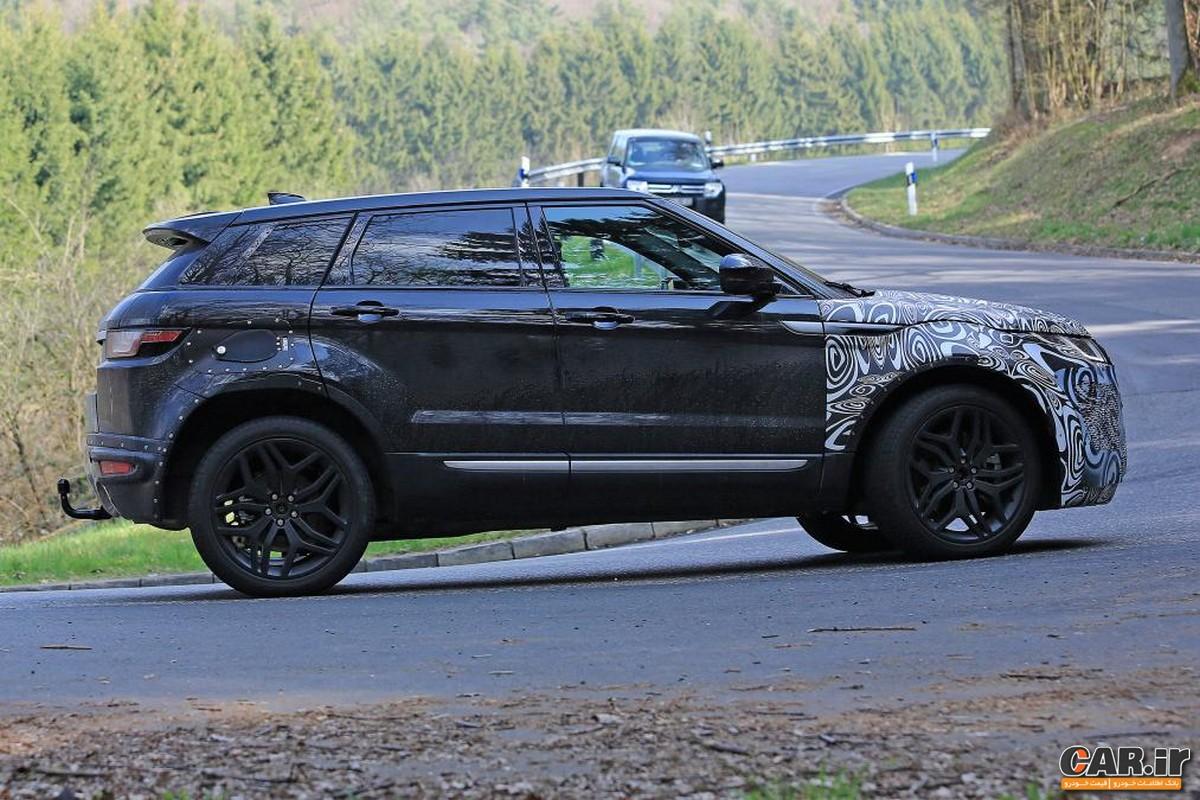 Range Rover Evoque 2019 در حال تست مخفیانه دیده شد