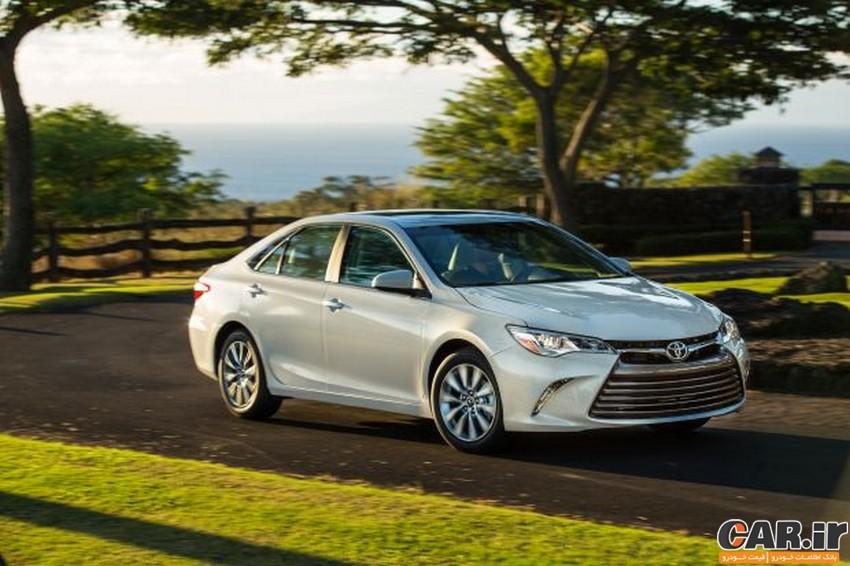 بررسی Toyota Camry XLE 2017