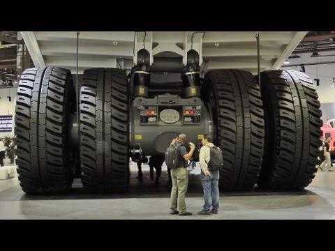 T 282B،بزرگترین کامیون  ساخته شده در جهان