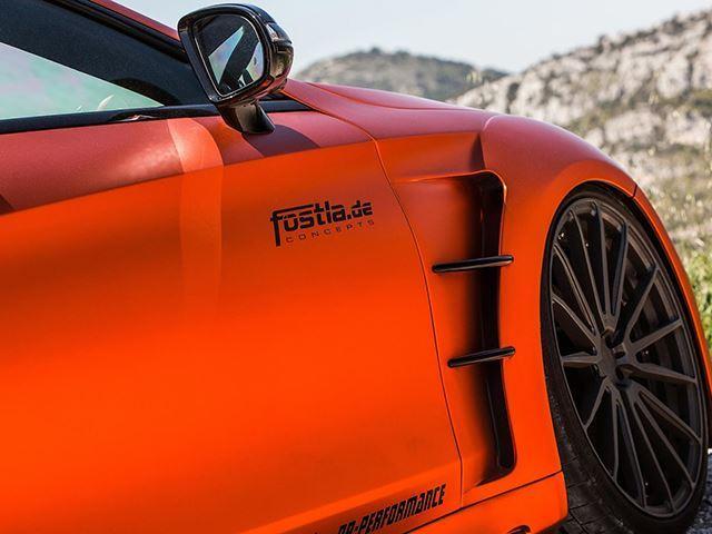 مرسدس AMG S63 آفتاب سوخته با ۷۳۰ اسب بخار قدرت