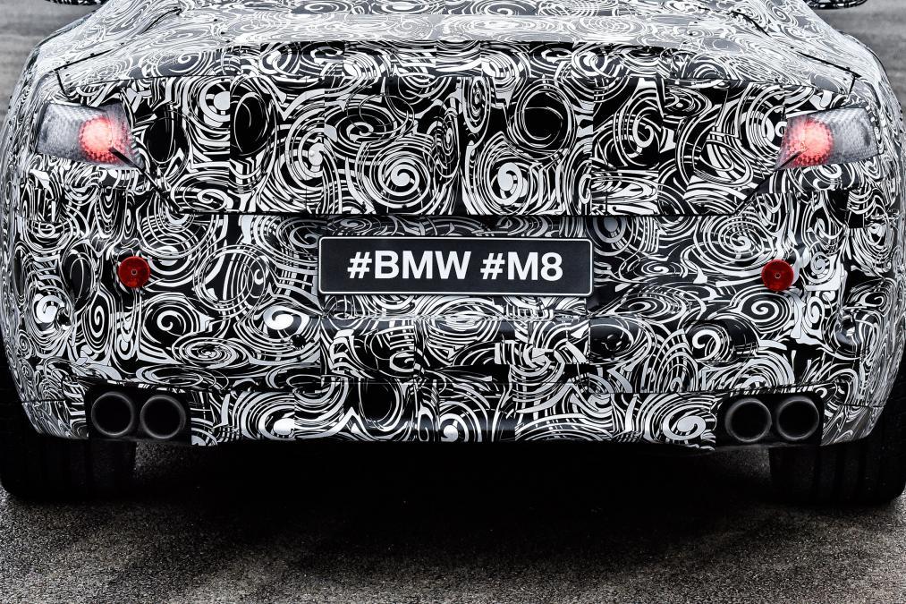 بی ام و M8 رقیب جدی مرسدس AMG S63
