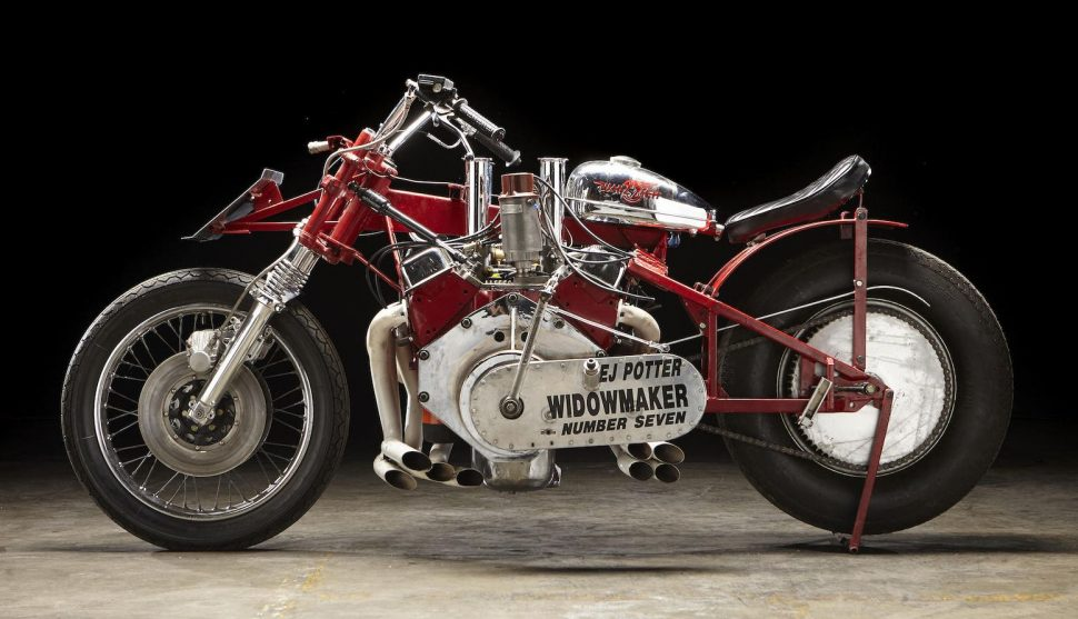 سریعترین موتورسیکلت هشت سیلندر