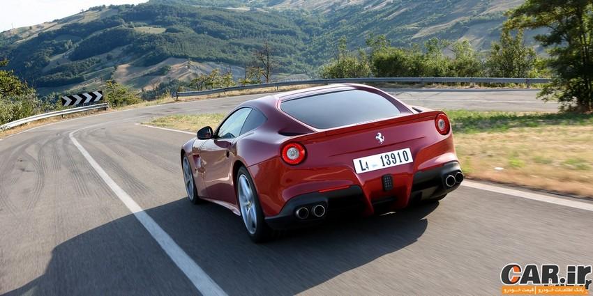 فراری F12 Berlinetta - ایتالیایی دو نفره ً بی نقص