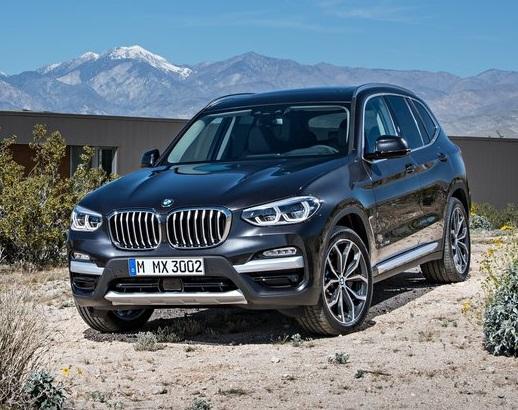 رونمایی از نسل جدید BMW X3 در مدل 2018