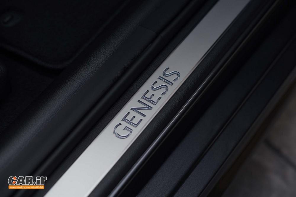 اولین تجربه رانندگی با جنسیس G80 اسپرت 2018