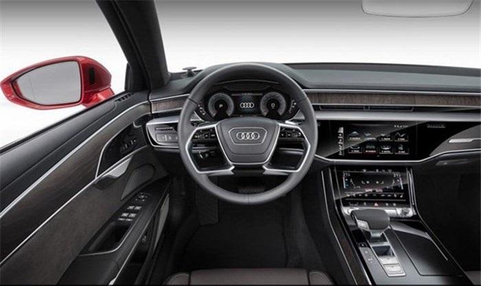 آئودی A۸؛ خودروی لوکس و زیبای آلمانی +تصاویر
