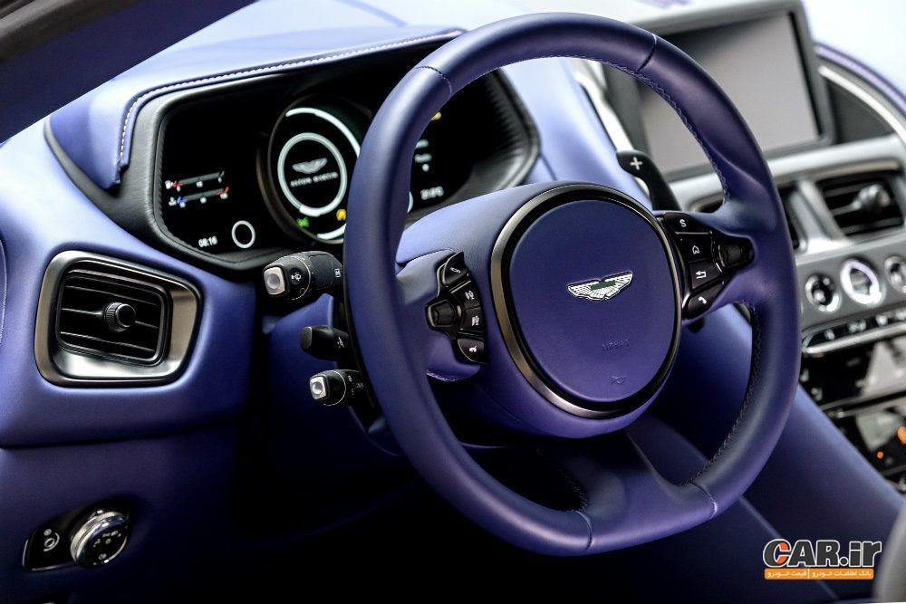 پیشرانه V8 مرسدس در سینه آستون مارتین DB11