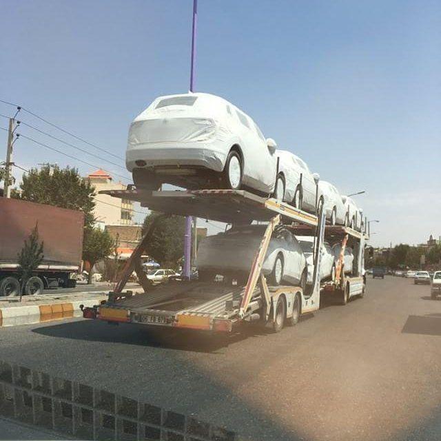 محموله جدید فولکس تیگوآن 2017 به ایران رسید
