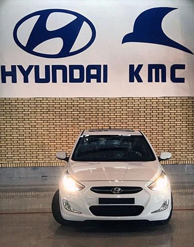 اولین هیوندای اکسنت در ایران تولید شد / قیمت + اعلام زمان فروش