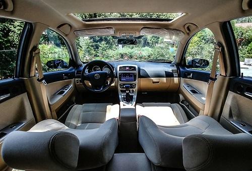 معرفی مشخصات کامل برلیانس کراس C3 اتوماتیک محصول جدید پارس خودرو