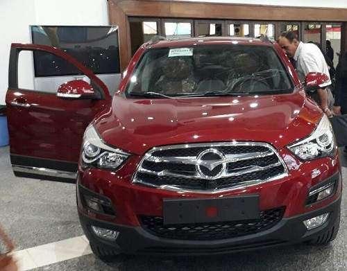 خودروی جدید هایما S5 به نمایشگاه های ایران خودرو رسید