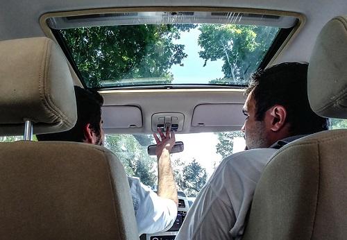 گزارش تصویری از اولین تجربه تست خودروی جدید برلیانس C3
