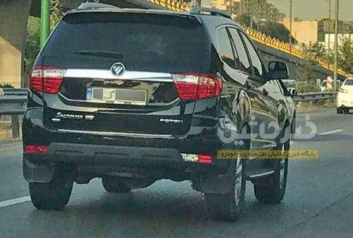 دیده شدن ساوانا، شاسی بلند جدید فوتون در تهران