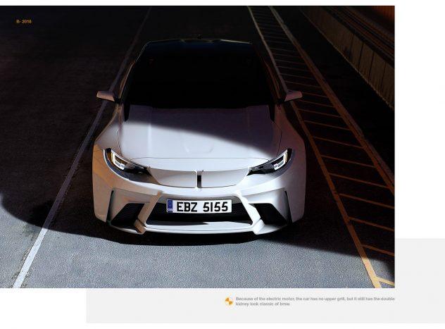 رونمایی از خودروی جدید اسپرت برقی و مفهومی ب ام و iM2