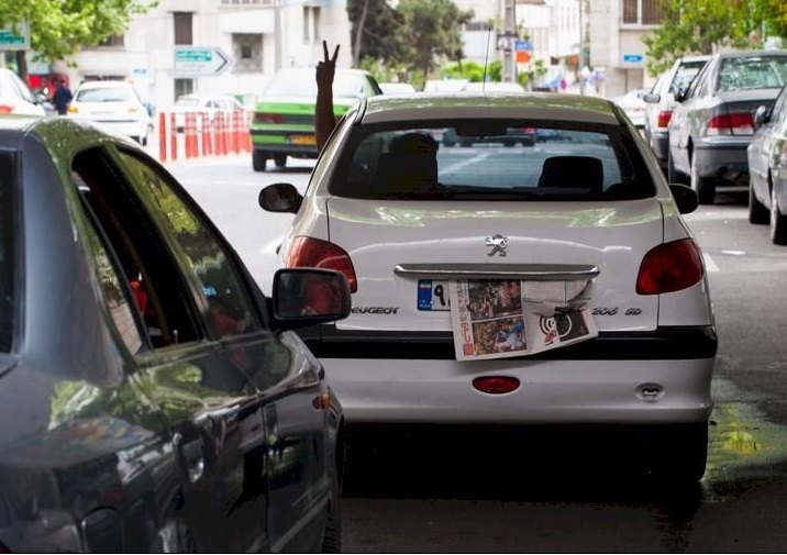 ترفند های جدید همشهریان برای فرار از دوربینهای طرح ترافیک + تصاویر