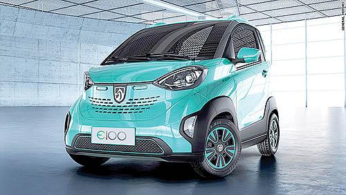 خودروی برقی ارزان قیمت  جنرال موتورز برای چینیها