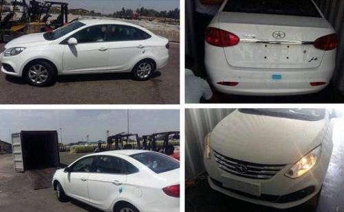 ورود اولین نمونه از خودروی JAC J4 به ایران