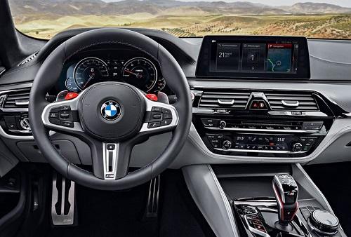 معرفی نسل جدید بی.ام.و M5 در مدل 2018