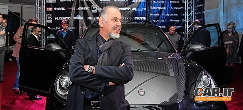 کوروش منصوری افتخار ایرانیان در صنعت اتومبیل سازی