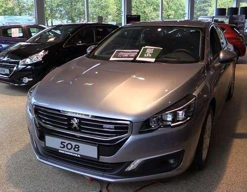 فروش پژو 508 با مدل 2017