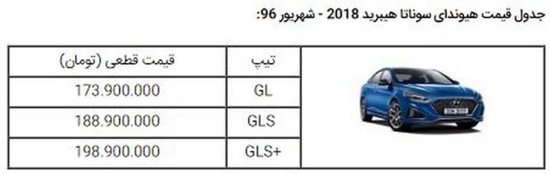 قیمت هیوندای سوناتا 2018 در ایران تعیین شد + شرایط فروش