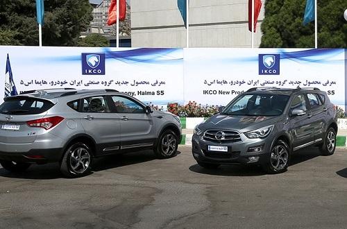 افزایش سهم کراساوورهای شرکت ایرانخودرو در بازار کشور