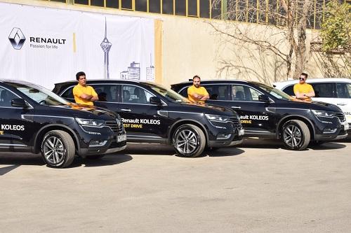 آغاز به کار تست درایو شهری محصولات رنو در ایران