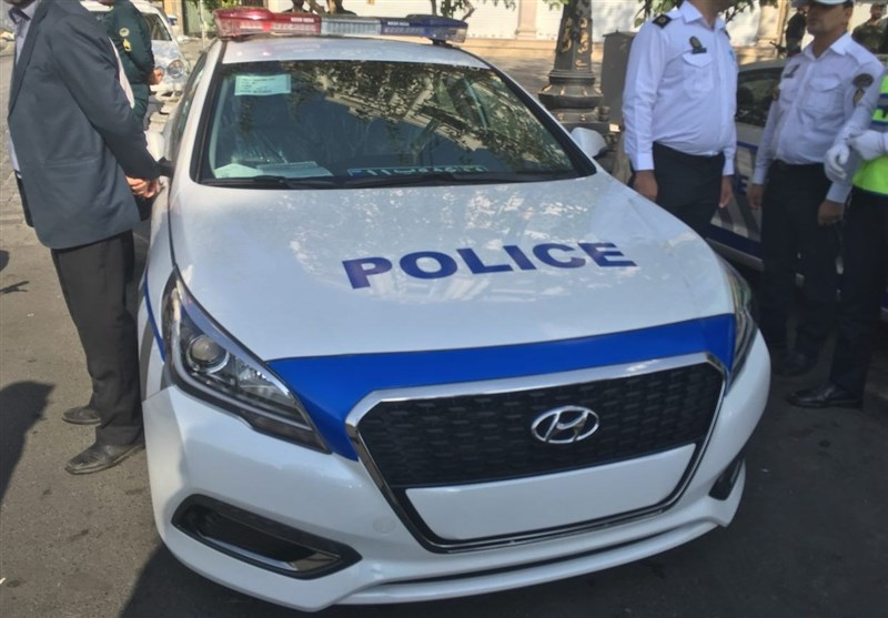 ماشین های پلیس ایران با خودروهای هیوندای جدید نوسازی شد