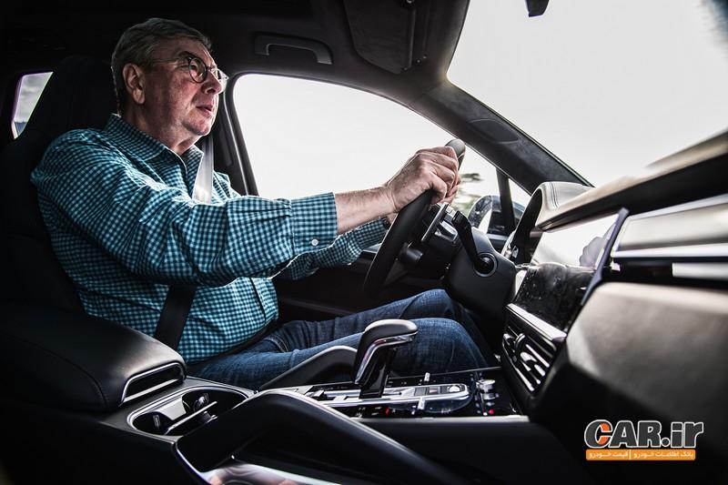 اولین تجربه رانندگی با پورشه کاین توربو 2019