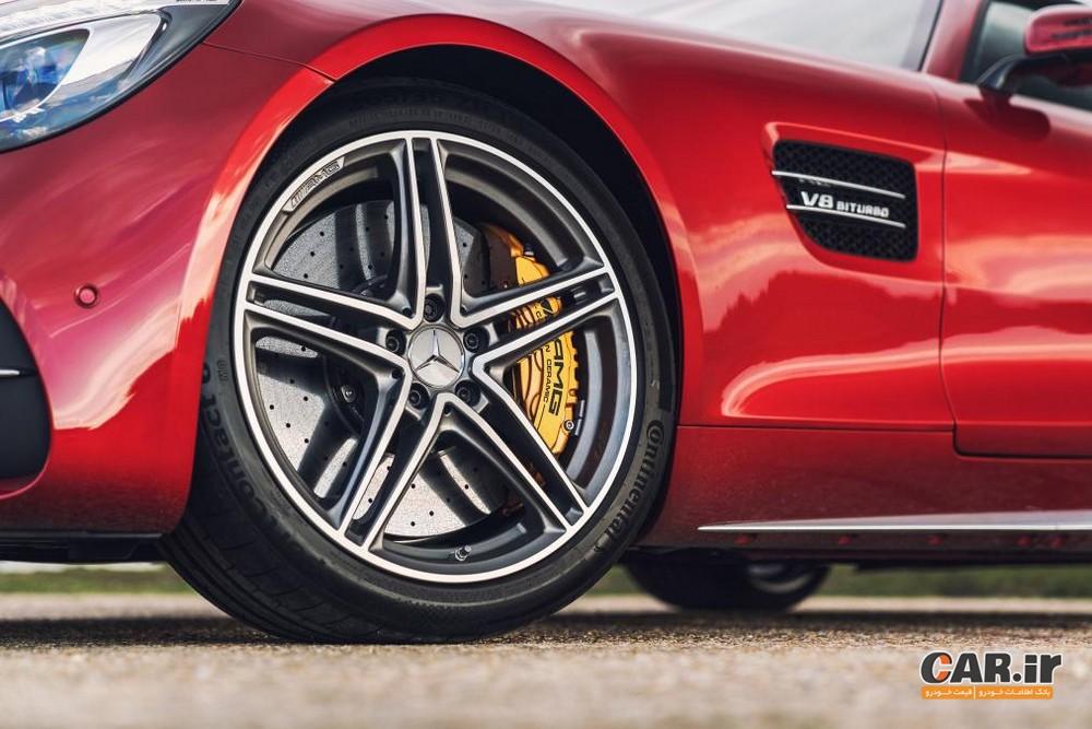 بررسی مرسدس  AMG GT رودستر