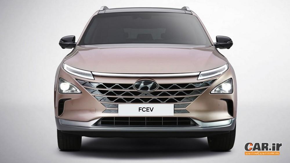 خودرو هیدروژنی جدید هیوندای برای CES 2018 آماده میشود