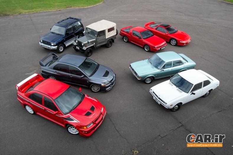 8 خودرو برتر میتسوبیشی در قرن اخیر