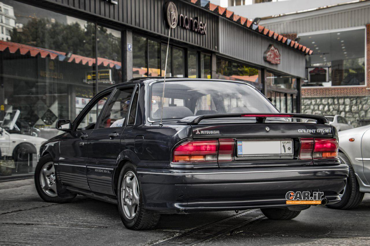 گردهمایی خودروهای ژاپنی در تهران - تصاویر