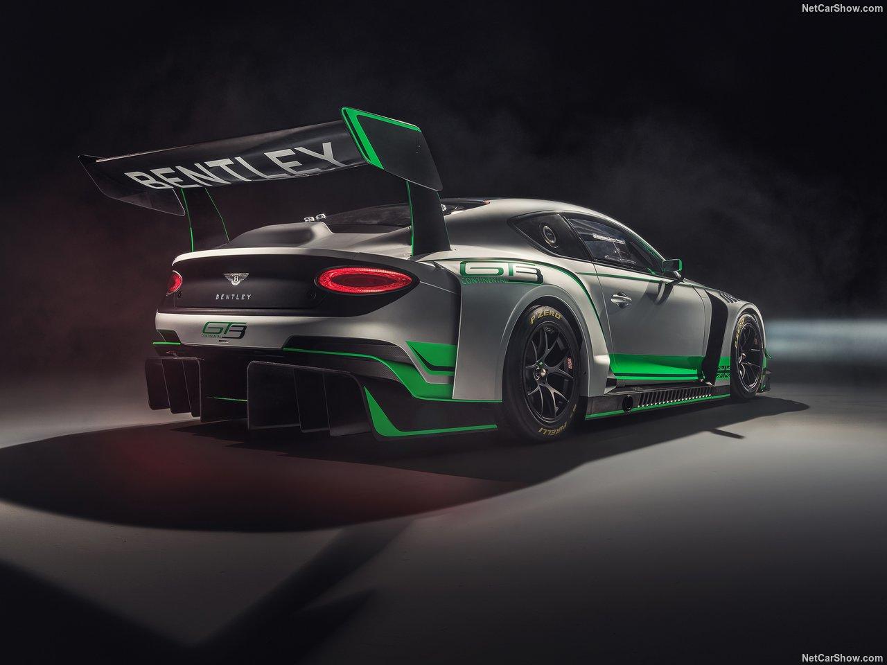 نسخه ای خاص از بنتلی کانتیننتال GT برای مسابقات  GT3